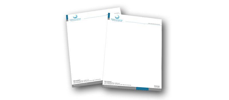 Impression Papier à Lettre à Bas Prix Yverdon Lausanne